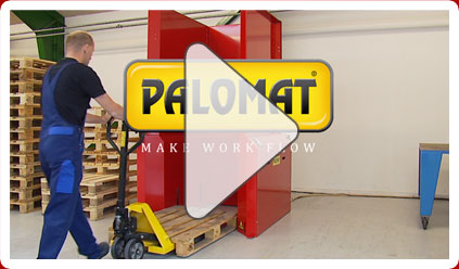 Se funktionsvideo for pallemagasinet PALOMAT her